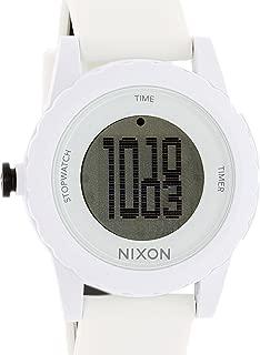 Men's A326-100 Plastic Analog Black Dial Watch