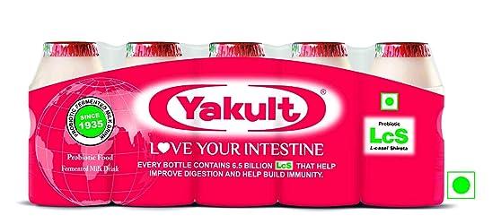 Yakult Probiotic Drink (Pack of 5)