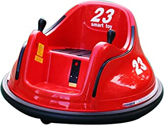 XUHUIXZI Worth Having 360 Spinning Bumper Car, Rideable/Rechargeable Toy Car,with Remote Control/Music + Light, Children's...