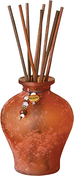 Pomeroy CASLON Orange Tierra Reed Diffuser Allure Fragrance