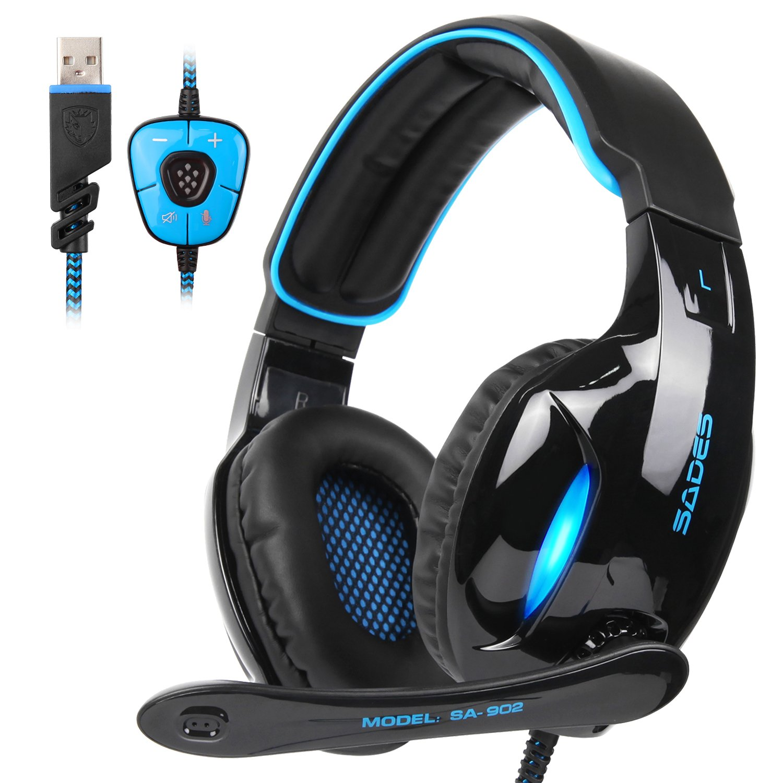 SADES Headset Headphone Channel Control