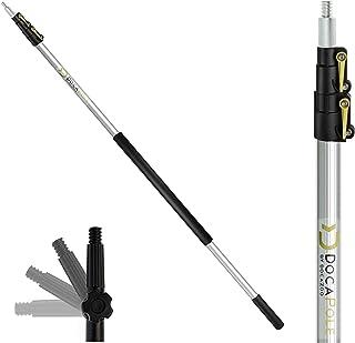 DocaPole 1.5m - 3.7m Extension Pole - Multi-Purpose Telescopic Pole//Light Bulb Changer//Paint Roller//Duster Pole//Telesc...