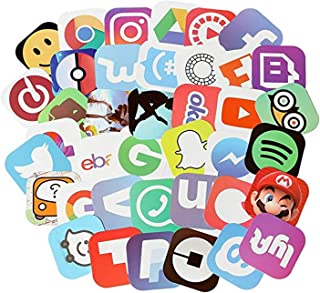 Best social media stickers Reviews