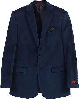 Gioberti Mens Formal Super Soft Velvet Blazer Jacket