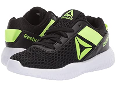 Reebok Kids Flexagon Energy (Little Kid/Big Kid) (Black/Solar Yellow) Boys Shoes