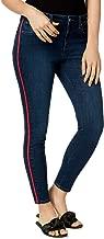 Maison Jules Racer-Stripe Skinny Jeans