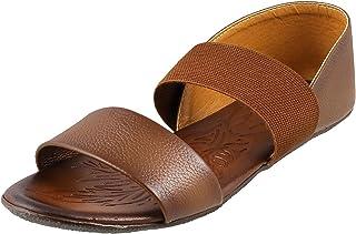 Metro Women's Rust Outdoor Sandals-6 UK (39 EU) (33-415)