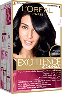 L'Oreal Paris Excellence Creme 1 black Haircolor