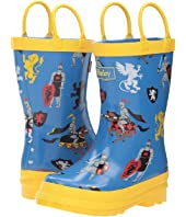 Hatley Kids - Medieval knights Rain Boots (Toddler/Little Kid)