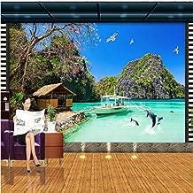 Custom 3D Photo Wallpaper HD Hawaiian Ocean View Living Room TV Background Sofa Wall Bedroom Mural Wallpaper 3D