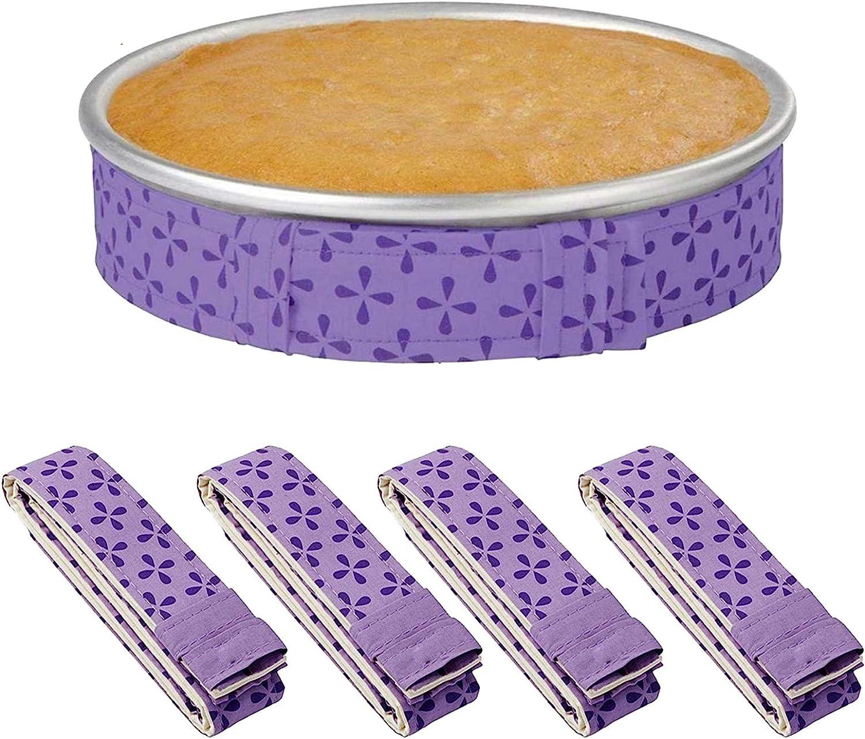 4-Piece Bake Even Strip Cake Pan Dampen Absorbent Strips Super Seasonal Wrap Dallas Mall Introduction T