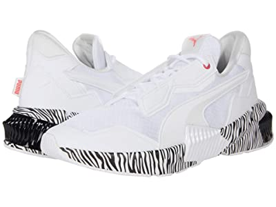 PUMA Provoke XT Zebra (Puma White/Sun Kissed Coral/Puma Black) Women