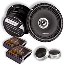 CT Sounds Full Range Component Car Speakers (Strato PA 2-Way 6.5 Inch)