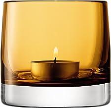 LSA International Light Colour Votive Holder H3.25in Amber Candleholders