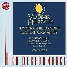 Rachmaninoff: Piano Concerto No. 3 & Piano Sonata No. 2 (Live)