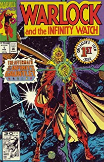 Warlock and the Infinity Watch #1 FN ; Marvel comic book