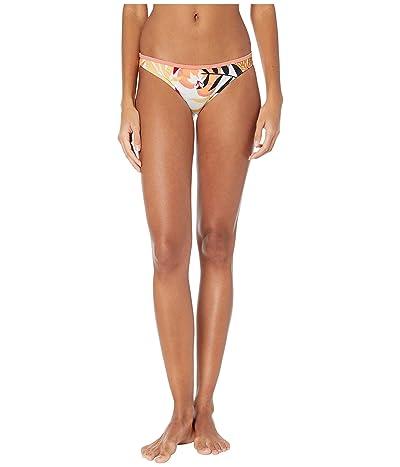 Roxy Pop Surf Moderate Bottoms (Bright White Nirantara) Women