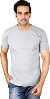 6TH AVENUE STREETWEAR Mens Half Sleeve Cotton Round Neck Tshirt
