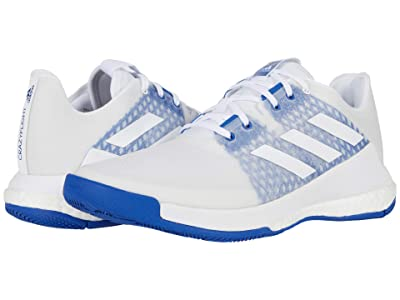 adidas Crazyflight (Footwear White/Footwear White/Team Royal Blue) Women