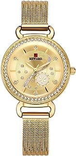 New Women's Watch Waterproof Watch with Diamond Watches for Women