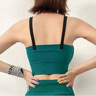 Women Sports Bra Wireless Yoga Crop Top Girl Bras Solid Push Up Vest Fitness Underwear Gym Shirt Activewear Plus Size