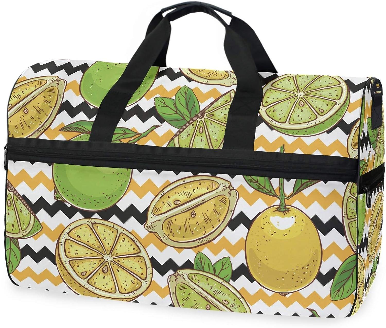 Limes And Lemons Excellent Duffel Bag Women 20.5