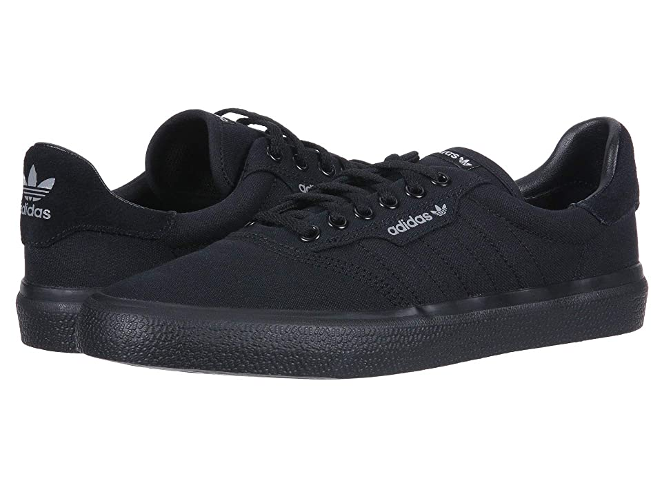 Image of adidas Skateboarding 3MC (Black/Black/Grey Two) Men's Skate Shoes