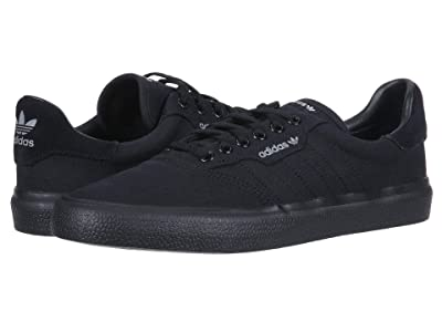 adidas Skateboarding 3MC (Black/Black/Grey Two) Men