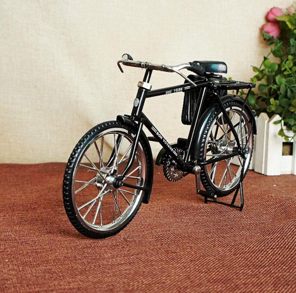 LOOKUR Moda Creativa Ultra Realista Bicicleta Vieja Bicicleta Inflable para Hombre con Bolsa De Cuero -A: Amazon.es: Hogar