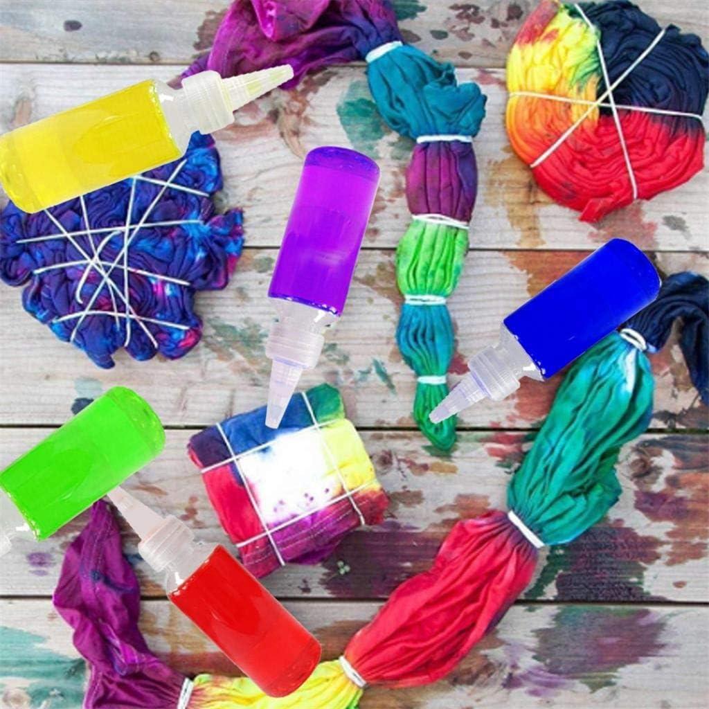 Tie-dye Dyes Kit 5 Bottles Muti-Color Japan's largest assortment Paint Permanent f Fort Worth Mall
