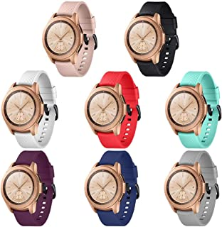 GinCoband 8PCS Sport Bands Replacement for Samsung Galaxy Watch 42mm,46mm,No Tracker