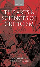 The Arts and Sciences of Criticism