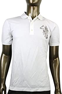 23b7daa1c0e Gucci Embroidered Cotton Slim Fit Horse Polo Shirt 338567
