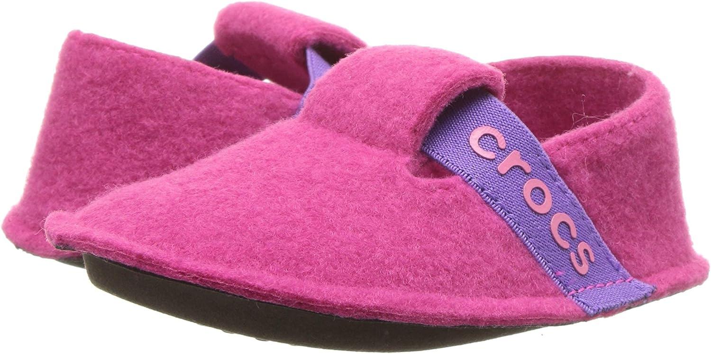 Crocs Unisex-Child Kids' Classic Fuzzy Slippers
