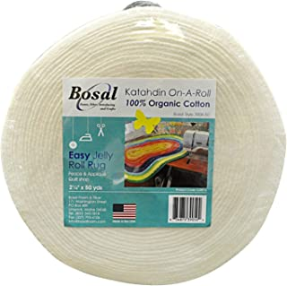 Bosal Katahdin On-A-Roll Organic Cotton Batting 2-1/4 inches by 50 Yards