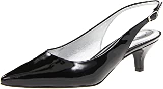 Best black patent kitten heel slingbacks Reviews