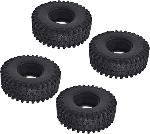 wholesale labworkauto RC Tires 1.9 Inch Rubber Tyre Tires Replacement for 1:10 RC Rock Crawler sale Axial SCX10 Traxxas 2021 TRX4 D90 sale