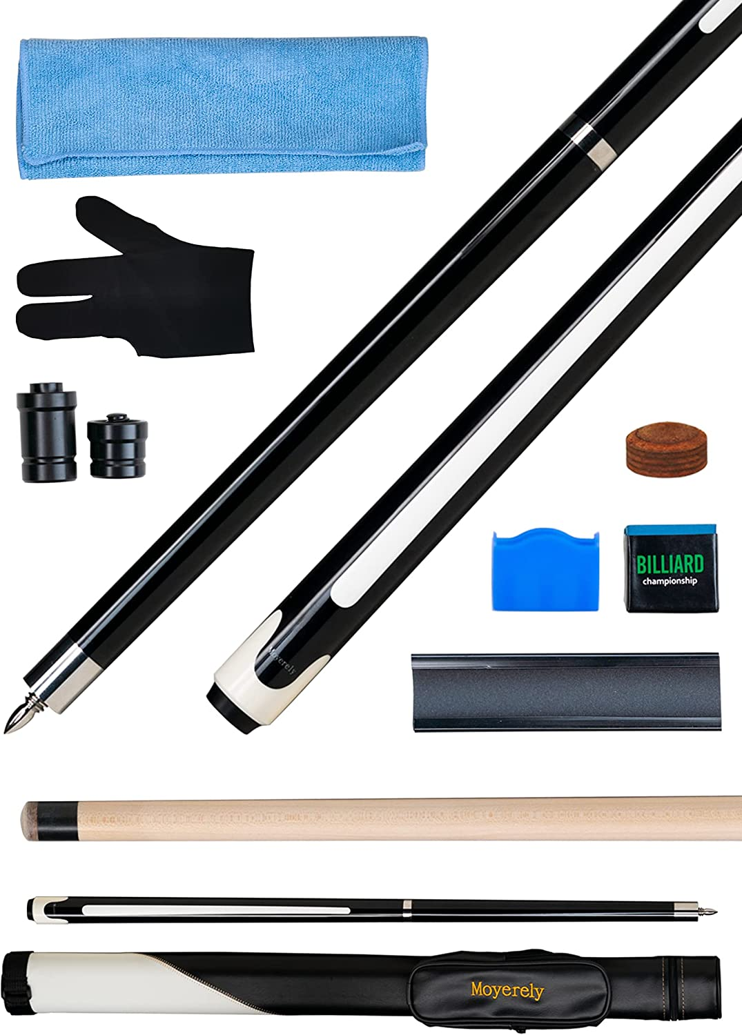 Moyerely Professional Pool Stick Cue 2021 Discount is also underway Inch 13mm 11.5mm 58 10mm