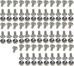 XunLiu 100pcs 304 Stainless Steel Pan Head Phillips Machine Screws M2 4mm