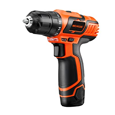 Meagle 12V Lithium-Ion Cordless Drill Driver - ...