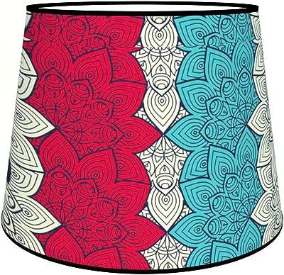 Abat-jours 7111302309159 Conique Eleo Lampadaire, Tissus/PVC, Multicolore