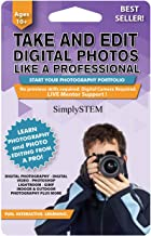 Become a Youtuber - Digital PHOTOGRAPHY & VIDEO Editing Course for Kids (Ages 10+) - Learn to Take Photos or Videos and Edit them using Adobe Photoshop, Premier, Camtasia, Gimp, and More! (PC & Mac)