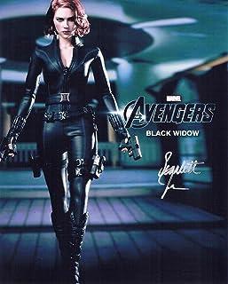 直筆サイン◆アベンジャーズ◆THE AVENGERS (2012) スカーレット ヨハンソン as ナターシャ ロマノフ/ブラック ウィドウ Scarlett Johansson as Natasha Romanoff/Black Widow