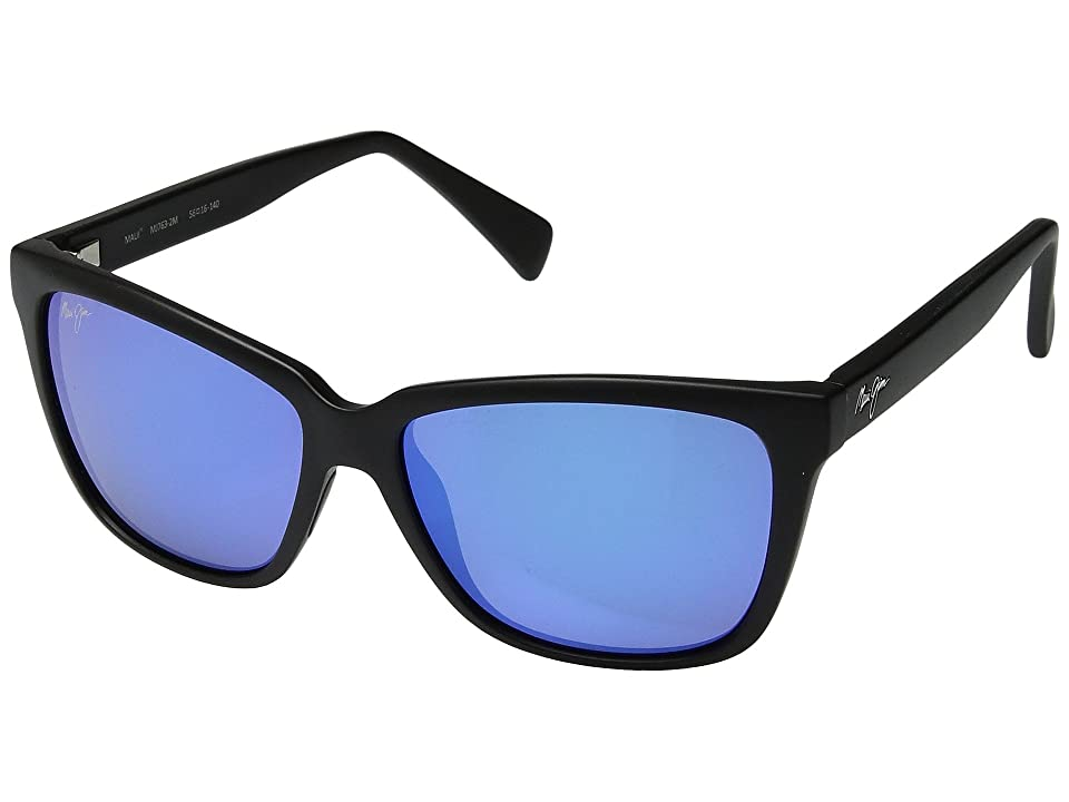 Maui Jim Jacaranda (Black Matte) Athletic Performance Sport Sunglasses
