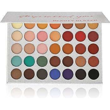 MAYCREATE Beauty Glazed 35 colors Eye Shadow Powder Make Up Waterproof Eye Shadow Palette