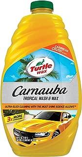 Turtle Wax 50690 Carnauba Wash & Wax, 48. Fluid_Ounces