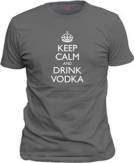 keep calm and drink vodka t shirt