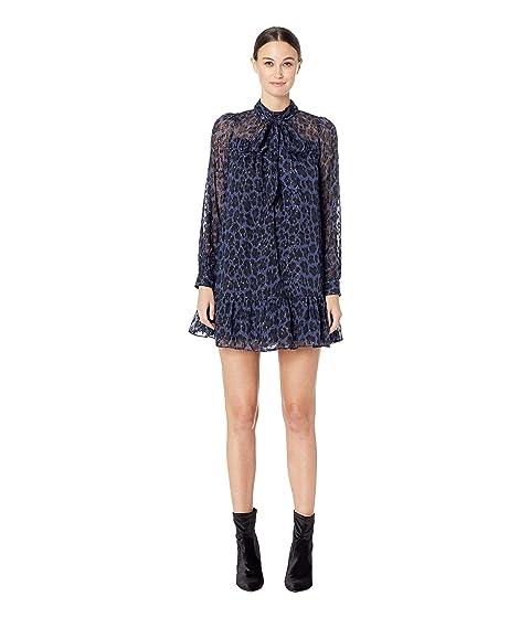 Kate Spade New York Wild Ones Leopard Clip Dot Mini Dress