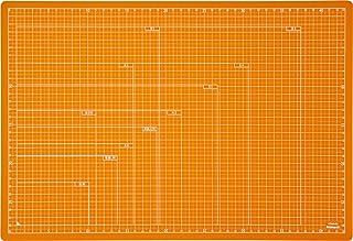 ナカバヤシ カッターマット 折りたたみカッティングマット A3 オレンジ CTMO-A3OR