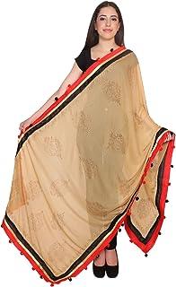 women ethnic long indian traditional shawl-stole-duppata-chunni-scarf-wrap